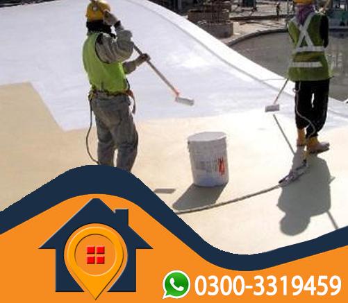 rcc roof heat proofing